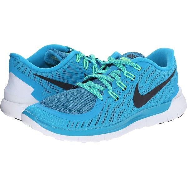 new concept 19b53 a1eb0 Nike Free 5.0 Women s Running Shoes, Blue ( 80) ❤ liked on Polyvore  featuring shoes, athletic shoes, blue, nike, running shoes, structure shoes,  nike shoes ...