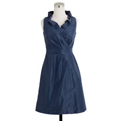 Jcrew. Navy bridesmaids dress. LOVE.