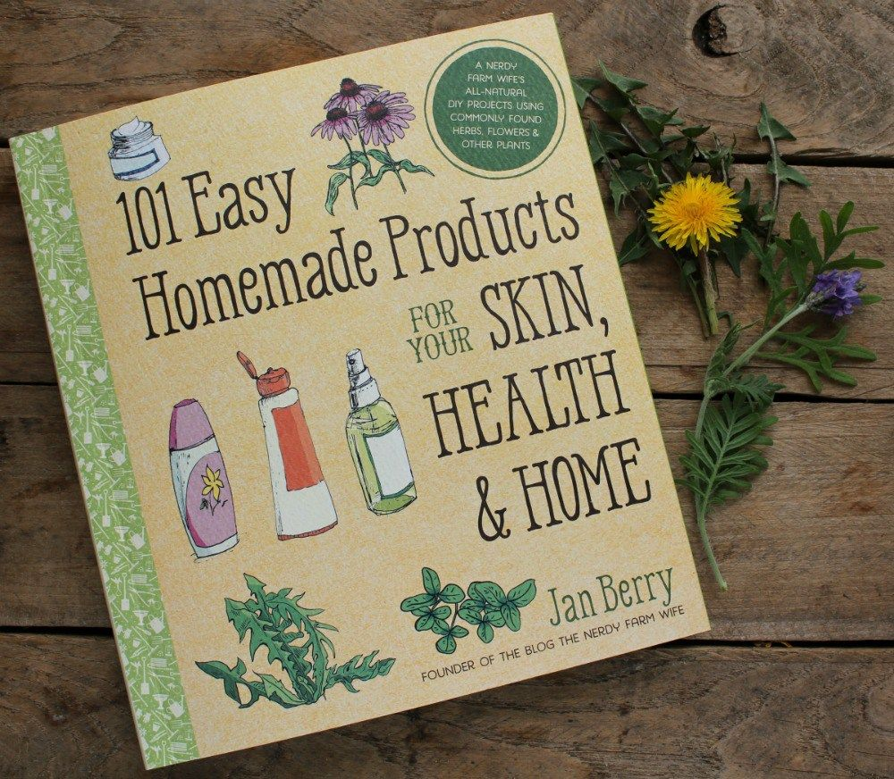 Outside view 1 of 101 Easy Homemade Products book