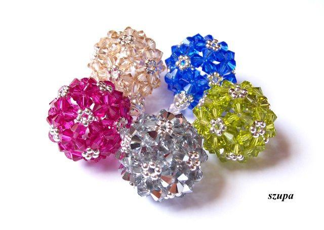 Szupa- krywulki, biżuteria z koralików