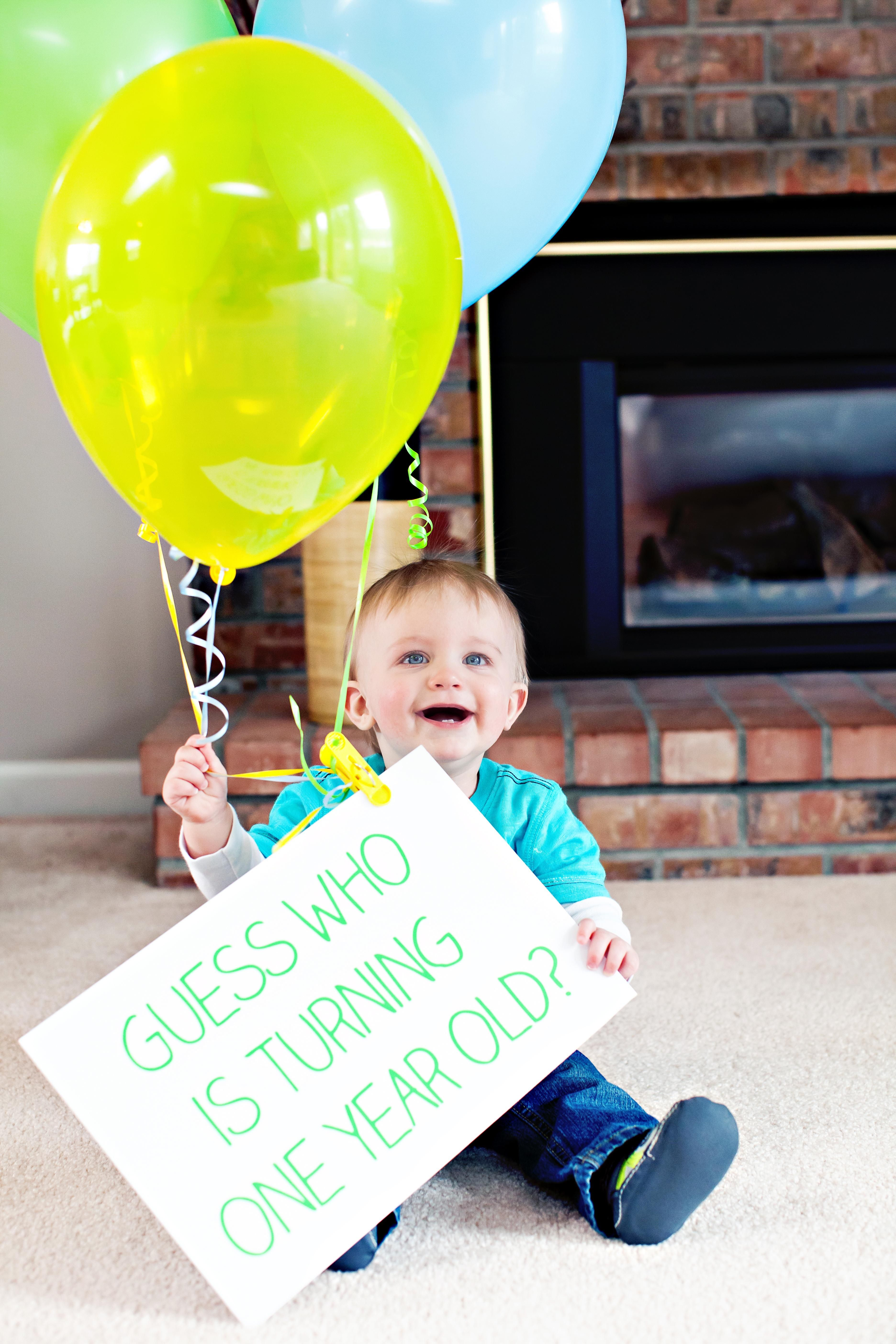 Save money on your birthday invites! Take a photo of your
