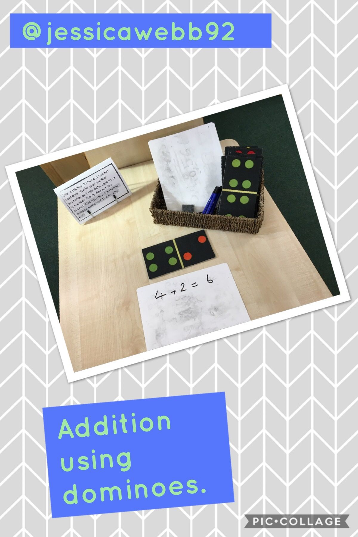 Adding Using Dominoes