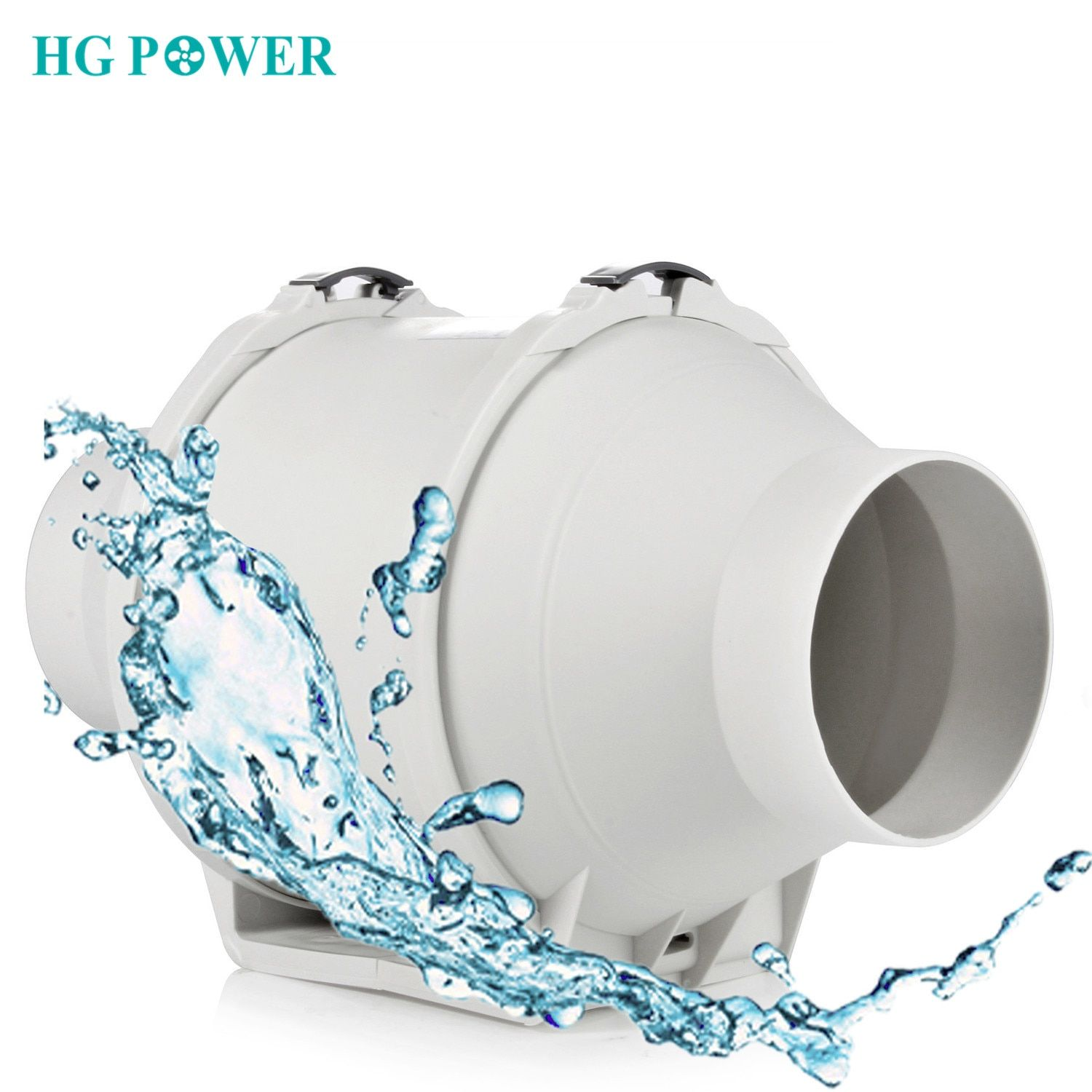 4 5 220v High Efficiency Inline Duct Fan Ventilation System Exhaust Extractor Fan Hydroponic Air Blower Booster For Bathroom With Images Extractor Fans Ventilation System
