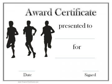 black and white sports award cross country pinterest award