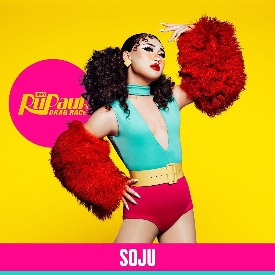 Raised In Korea Shotwithsoju Brings Korean Influences Into Her Drag Be It Colorful Crazy K Pop Aesthetics Or Taekwondo Rupaul Rupauls Drag Race Rupaul Drag