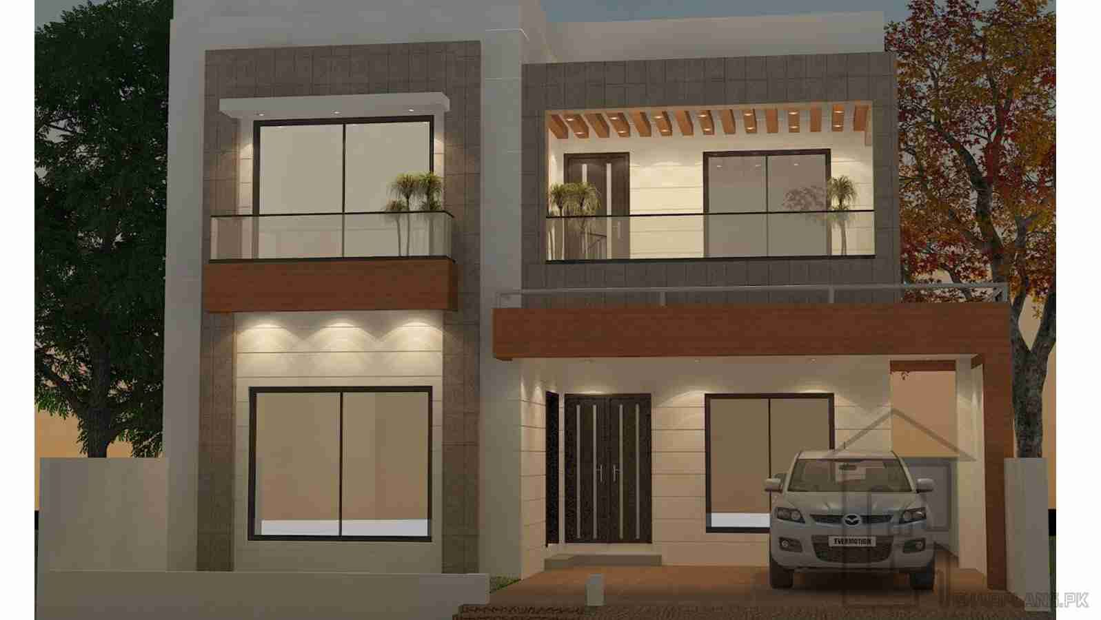 Design Front Elevations of Home 240 Square Yard