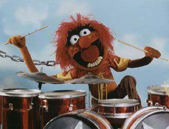Schlagzeuger Muppet Show