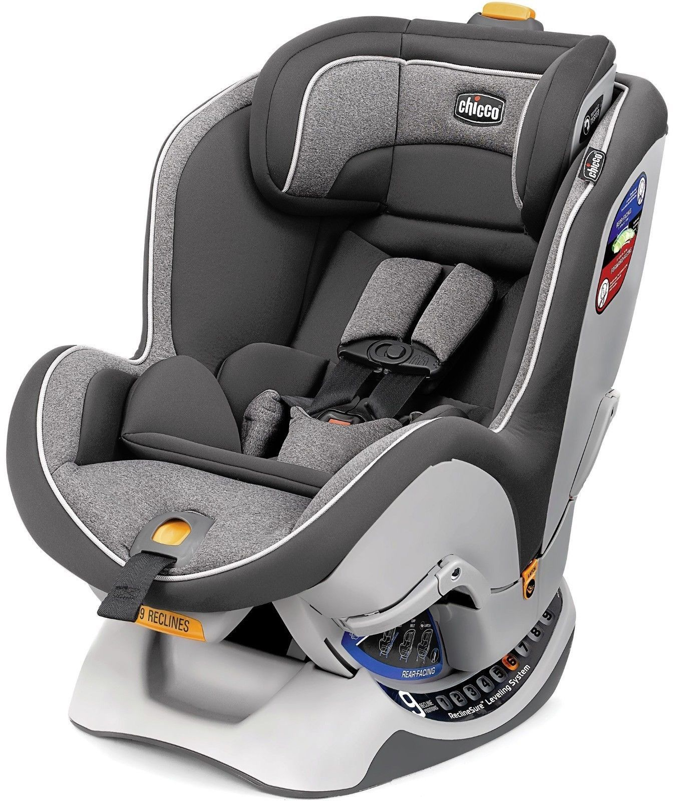 Chicco NextFit CX Convertible Child Safety Easy Install Car Seat Jasper