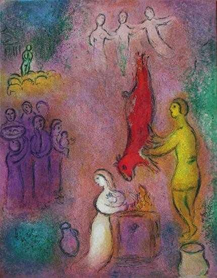 marc chagall biblical paintings - Google Search