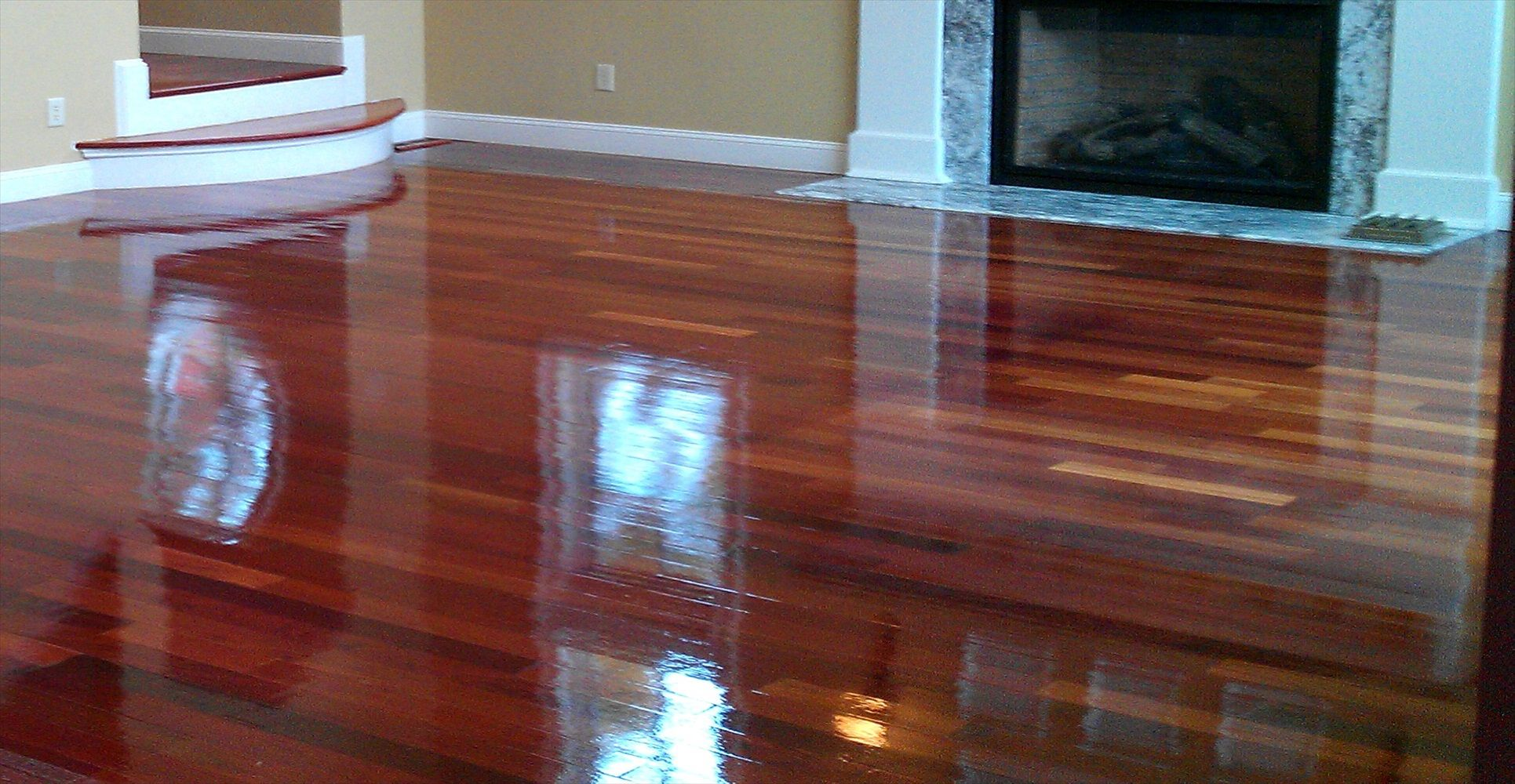 Refinishing Wood Floors Before And After Minimalist Home
