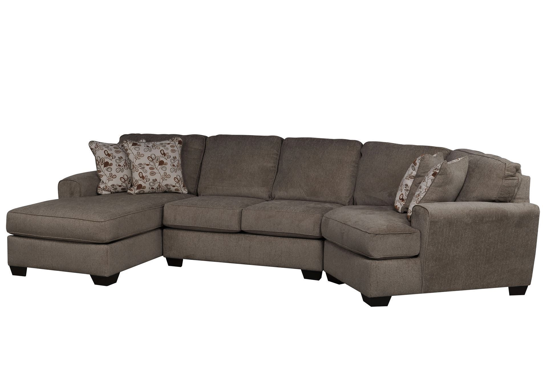 Patola Park 3 Piece Cuddler Sectional W Laf Cornr Chaise