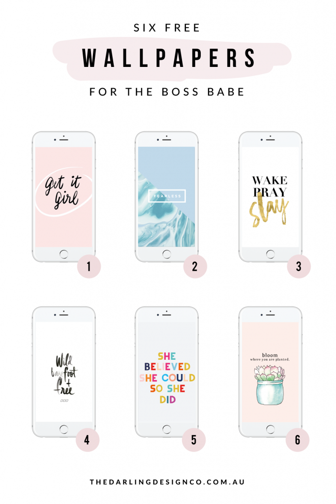 The Darling Design Co 6 Free Iphone Wallpapers For The Boss Babe Http Www Thedarlingdes Iphone Wallpaper Free Iphone Wallpaper Christian Iphone Wallpaper