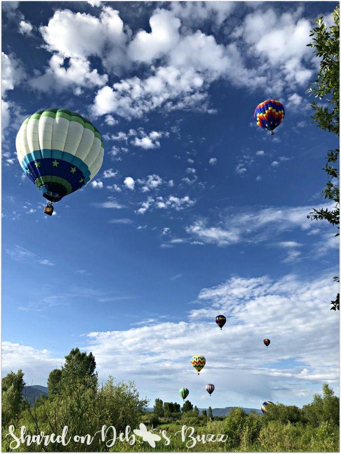 Steamboat Springs Sky High Hot Air Balloon Festival Air