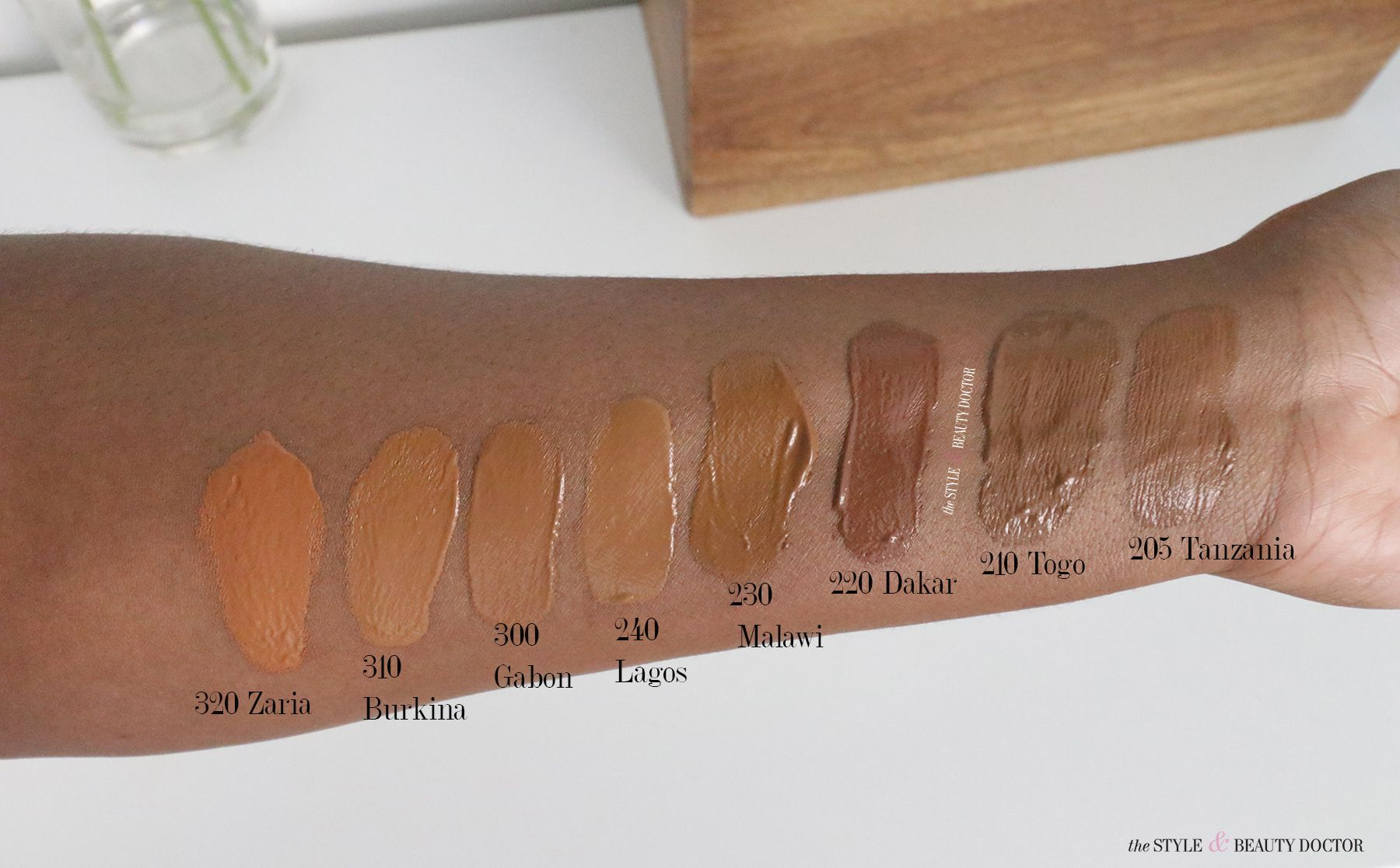 Juvia's Place Foundation + Concealer Swatches & Review