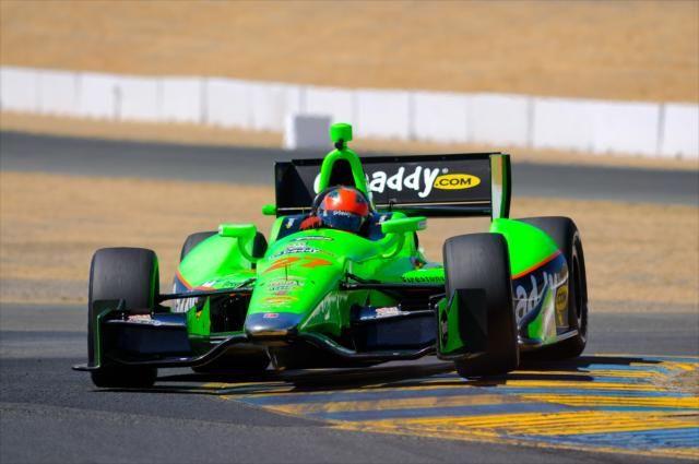 James Hinchcliffe by IZOD IndyCar Series, via Flickr