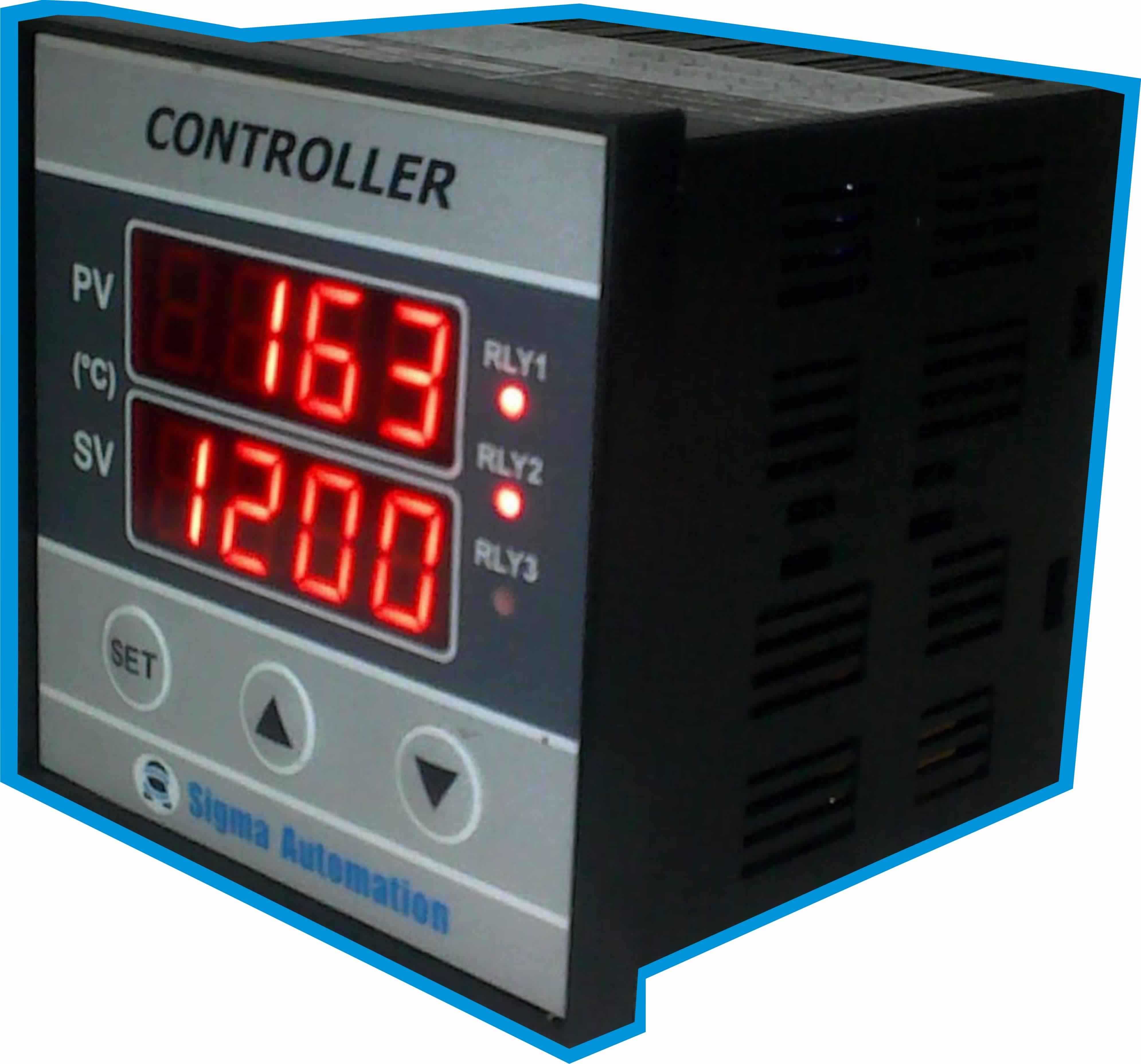 Dual Display For Pv Sv Output Configurable For Heating Or Cooling Configuration Disabled In User Mode Sens Process Control Temperature Control Automation