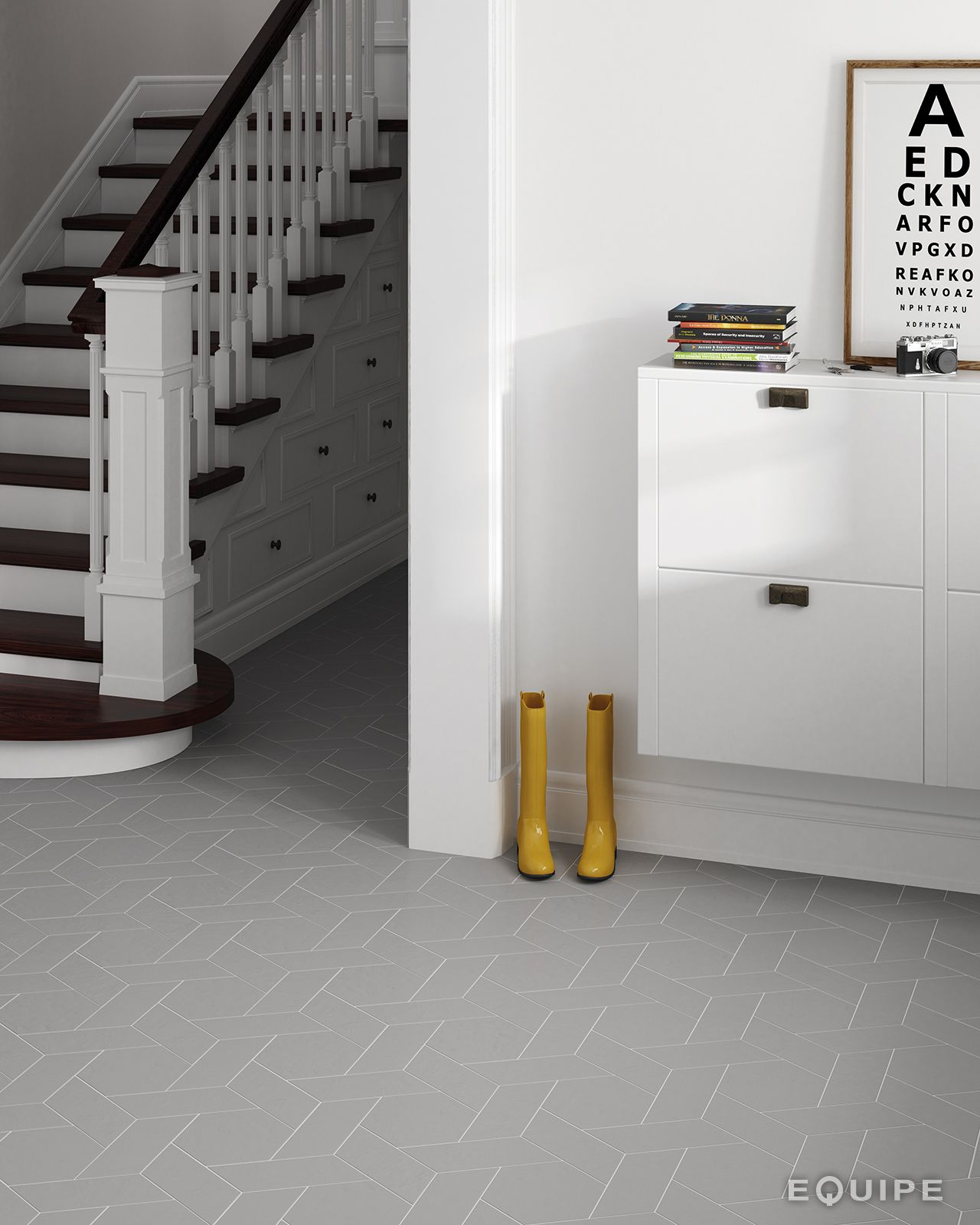 Chevron gris right 9x205 hexatile gris 175x20 chevron wall chevron wall floor tiles ceramic basic color ceramic tile porcelain tile contemporary modern form geometric interior design dailygadgetfo Image collections