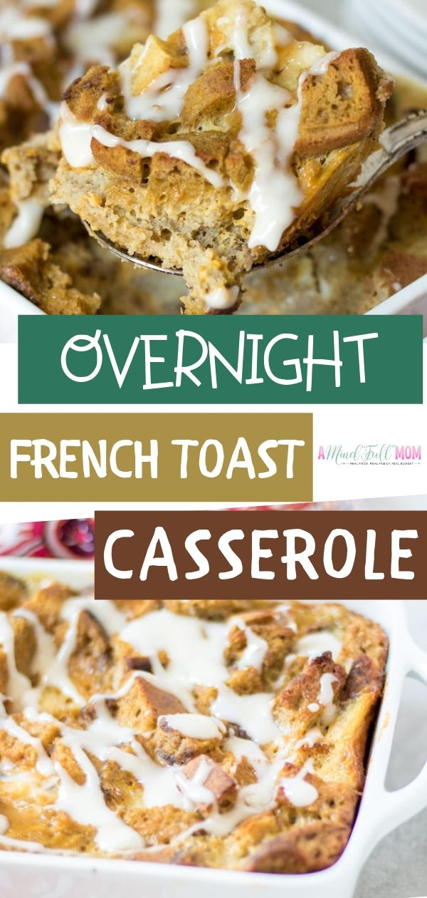 Easy Overnight French Toast Casserole images