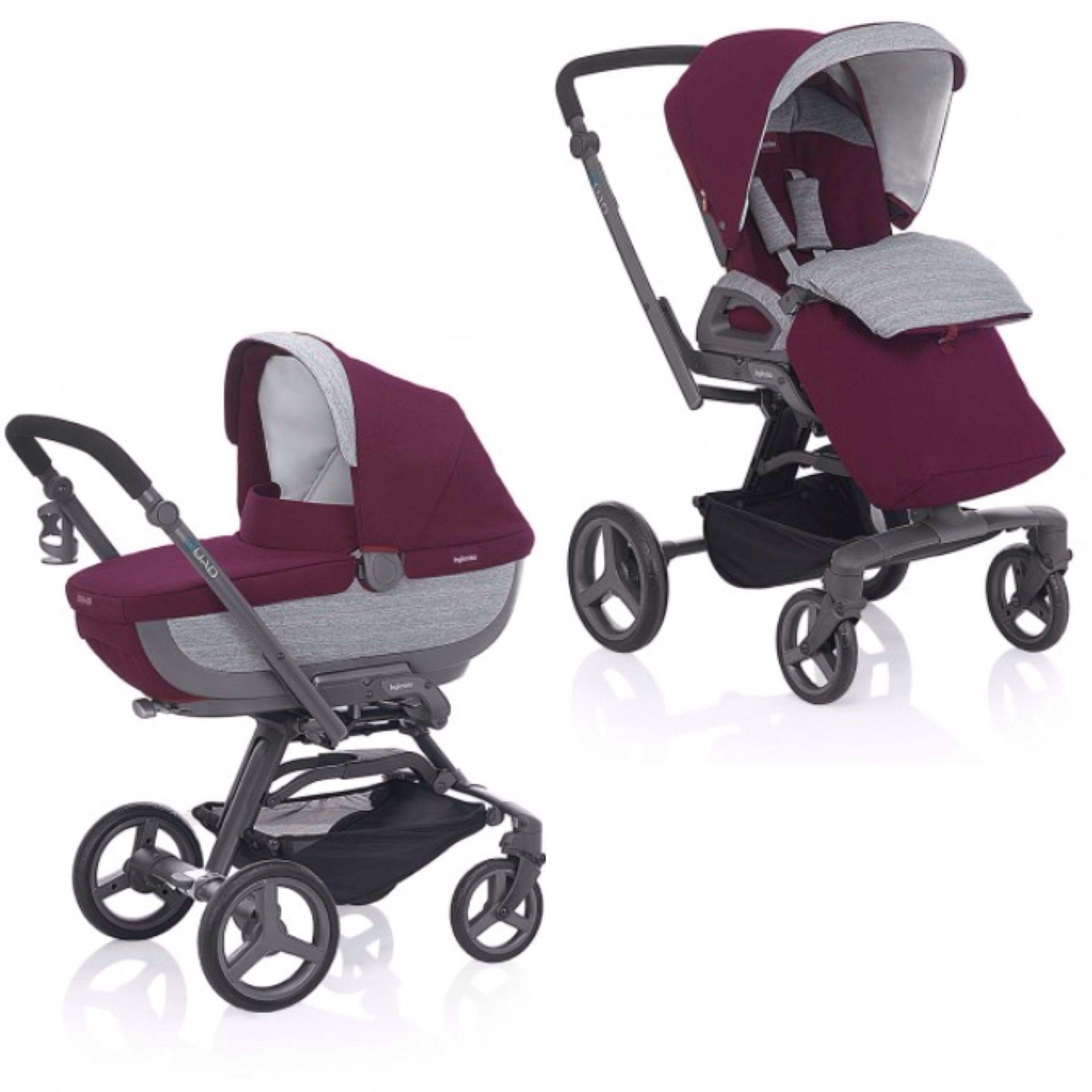Inglesina Quad Stroller with push chair seat & bassinet my wish list love