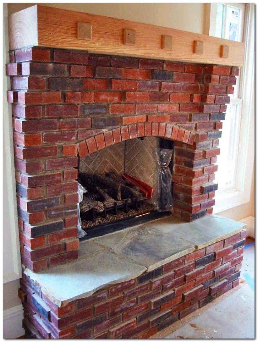 80 classic brick fireplace ideas