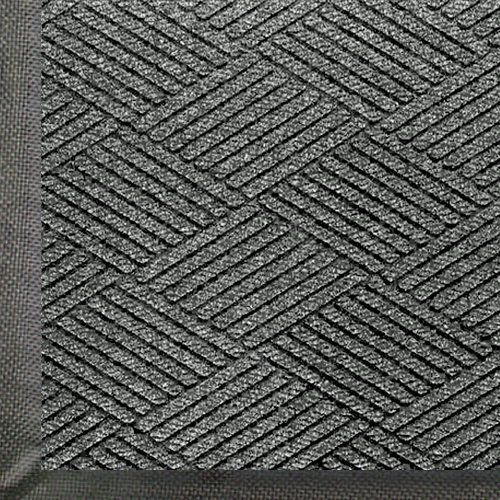 Andersen 2295 Grey Ash PET Polyester Waterhog ECO Premier Entrance Mat, 5' Length x 3' Width, For Indoor/Outdoor by Andersen. $72.80. WaterHog Eco premier mats combine all of the performance of the original WaterHog with a unique diamond face pattern creating the ultimate visual appearance. WaterHog Eco premier mats feature a 100 percent post consumer recycled PET face that is reclaimed from plastic bottles. Every 3 x 5 diverts approximately 60 plastic bottles from landfills. A m...