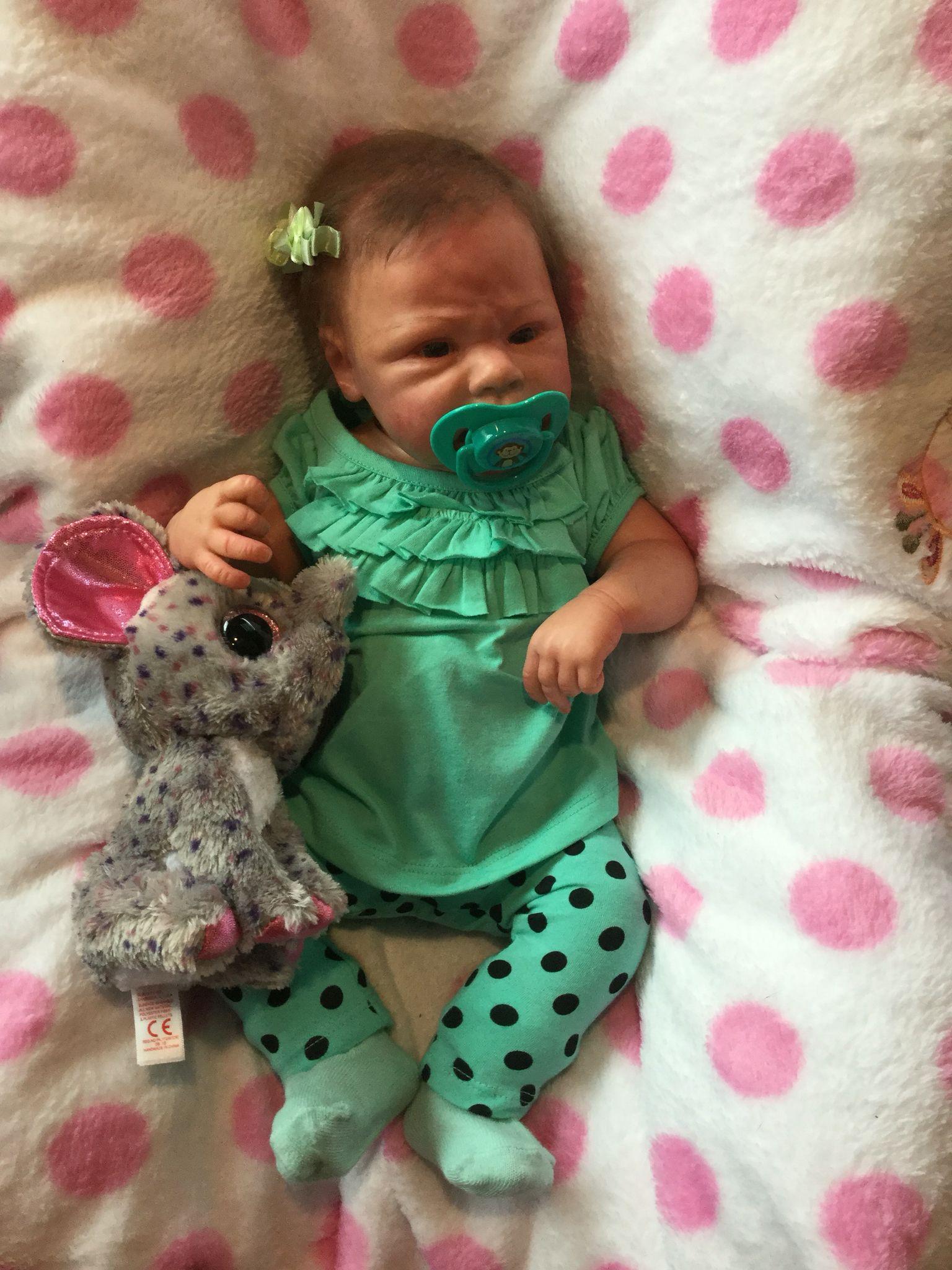 Emileigh Savannah Reborn Reborn Toddler Dolls Reborn