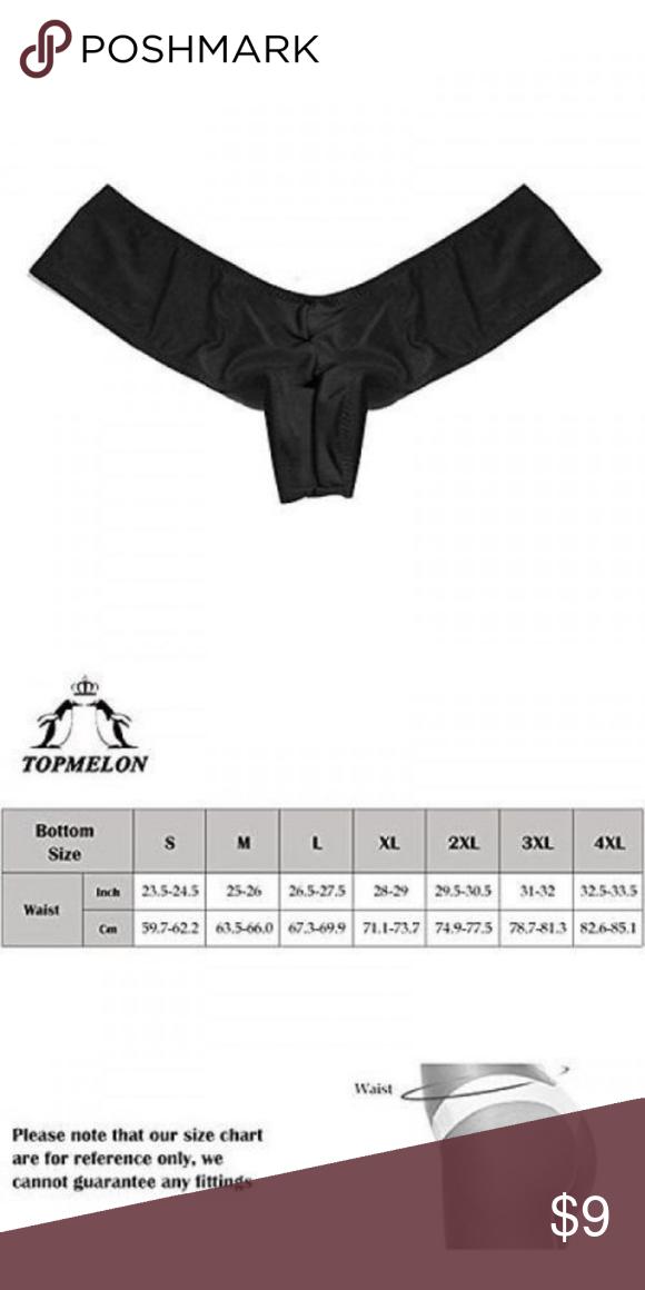 e35a760632 Topmelon Women s Brazilian V-style Bikini Bottom Topmelon Women s Brazilian  V-style Bikini Bottom Swimwear  s black