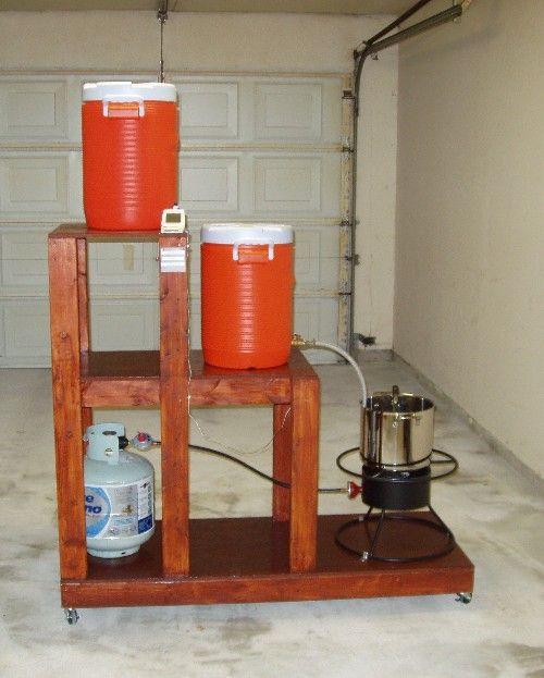 Three Tier Brewing System