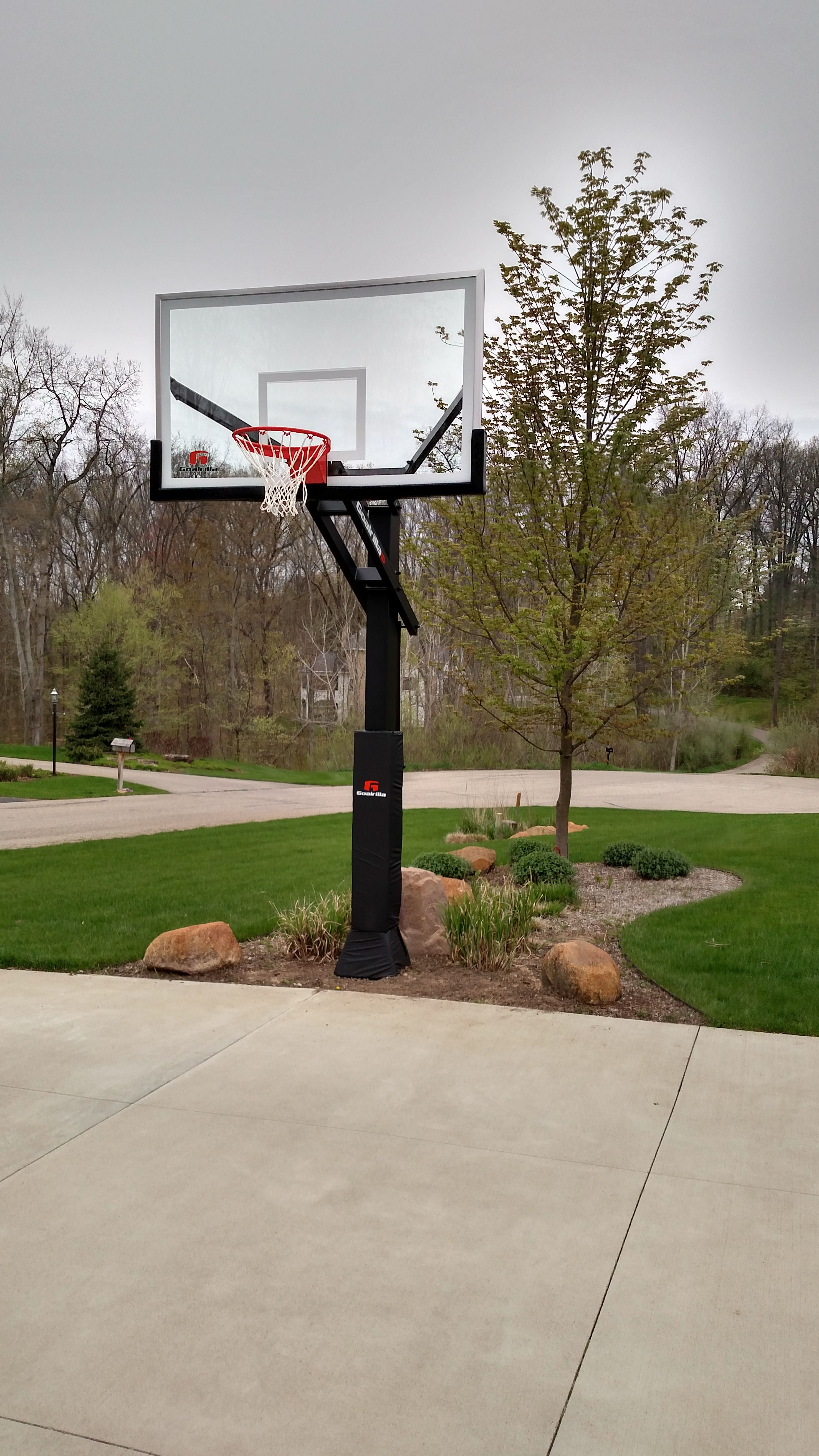 Goalrilla Home Court Outdoor Decor Court Grounds