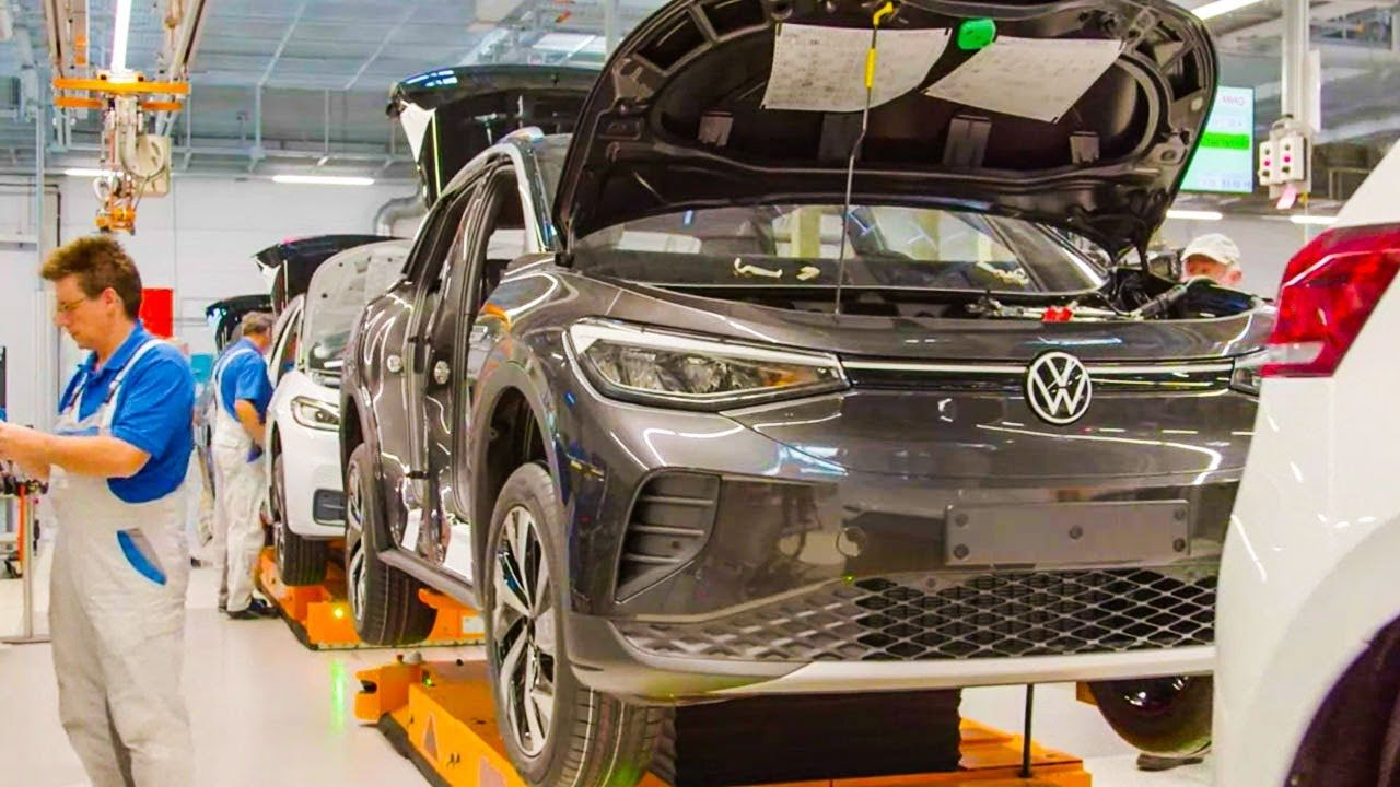 The New Volkswagen Id 4 Production Electric Suv Volkswagen Suv Sports Car