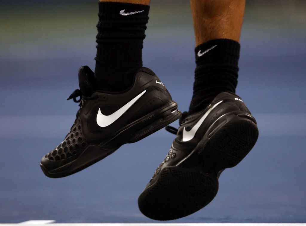 the best attitude a898f 2efd1 US Open 2013    Rafael Nadal wearing Nike Air Max Courtballistec 4.3 PE