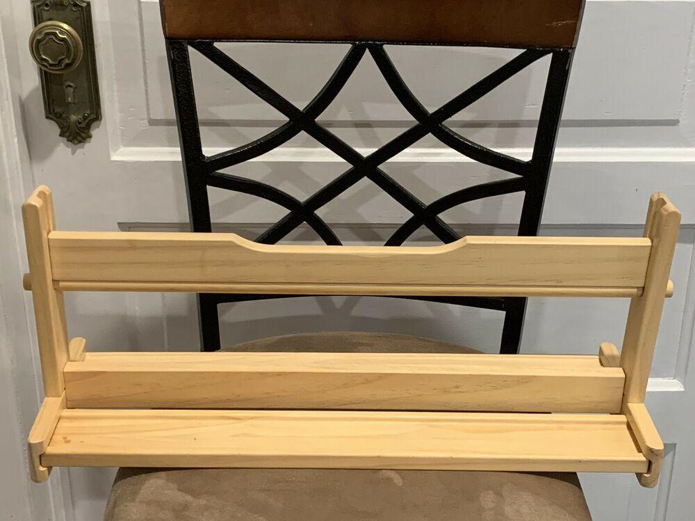 US Art Supply 18 inch Wooden Tabletop Paper Holder /& Dispenser