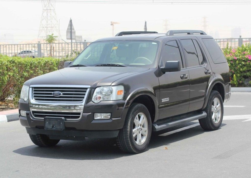 Ford Explorer 2007 Single Owner 7 Seater Gcc Ford Explorer Find
