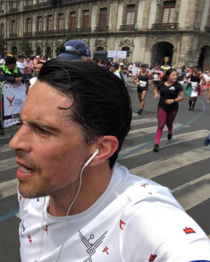 The Goal 🏁‼️, the only valid result 👊🏻‼️ #marathon #maratoncdmx #maratoncdmx2019 #running #runningmo...