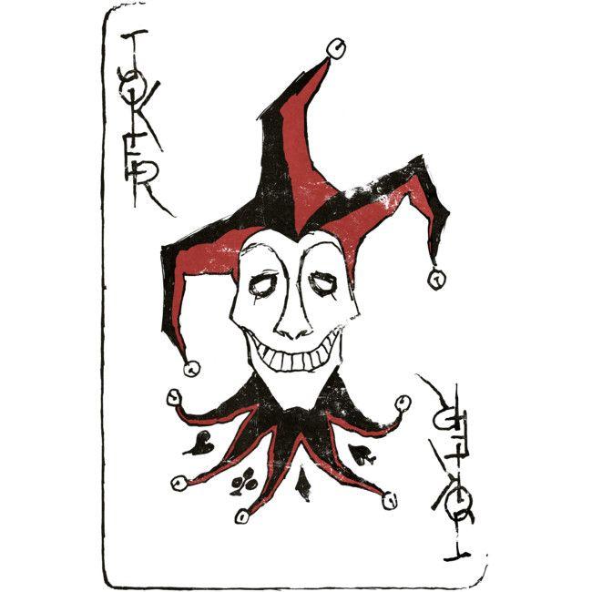 Joker Men S Perfect Tee By Moutchy Design By Humans Joker Playing Card Joker Card Tattoo Joker Art