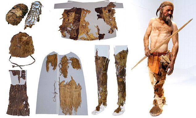 Mystery of Ötzi the Iceman's clothing is solved   The ...