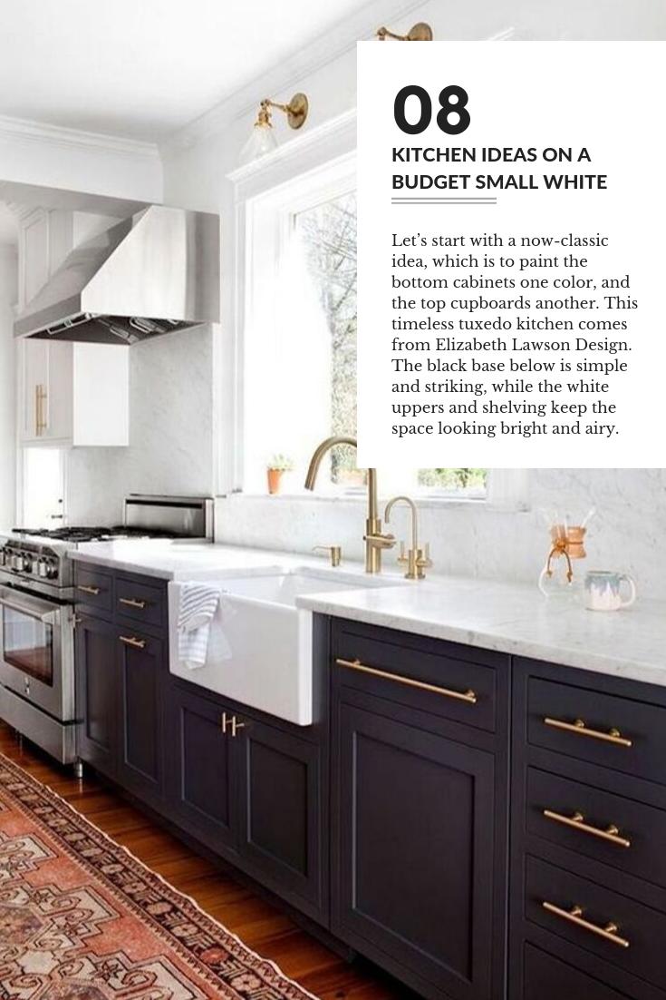 Kitchen Ideas On A Budget Small White 08 Kitchen Cabinet Colors Kitchen Interior Kitchen Renovation