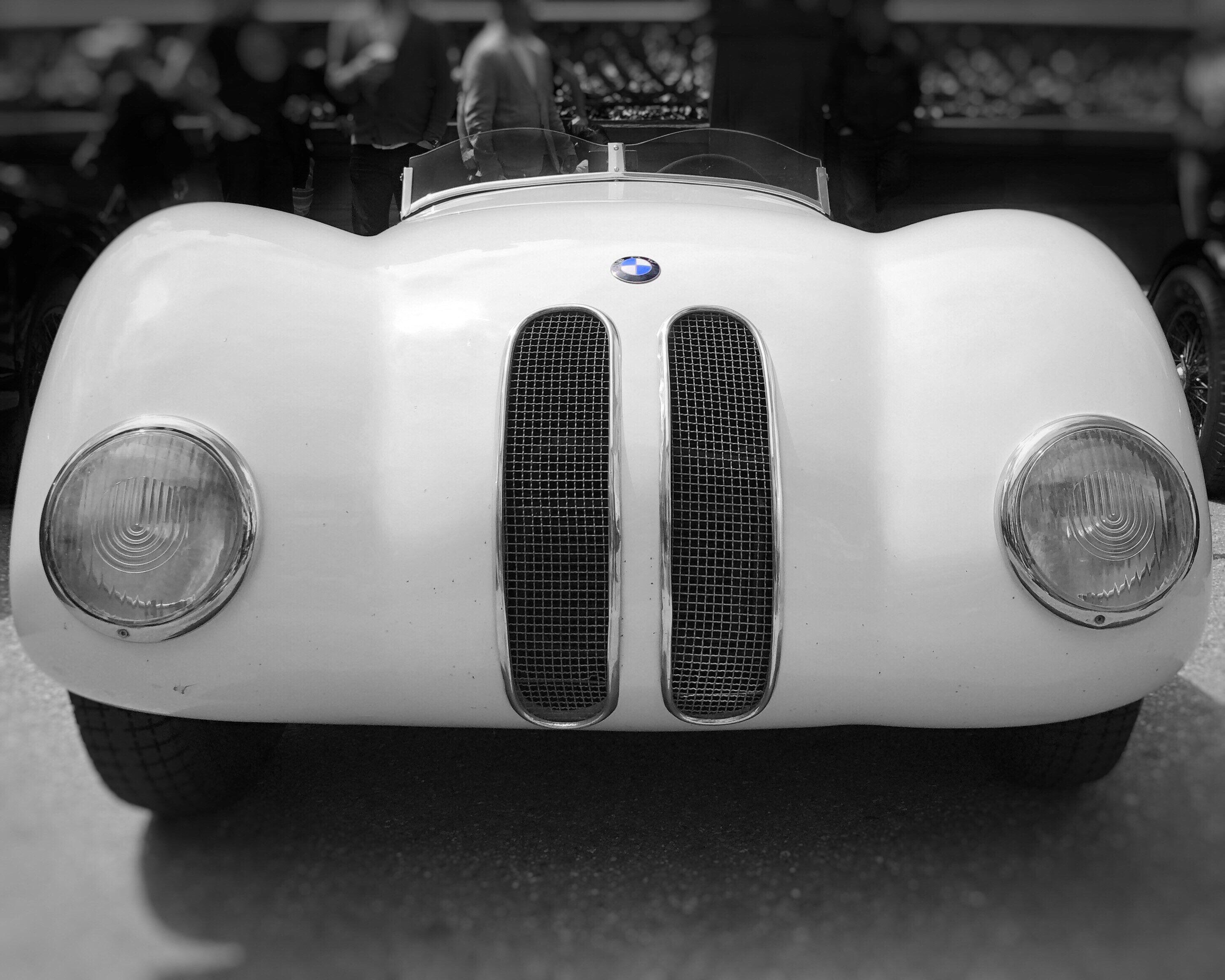 Vintage BMW | German Classic Car | Roadster | Fine Art | Restaurant Décor | Hotel Décor | Automotive Art