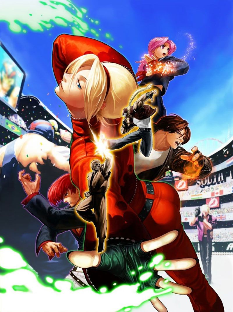 Box Artwork From The King Of Fighters Xii King Of Fighters Fighter Capcom Vs Snk