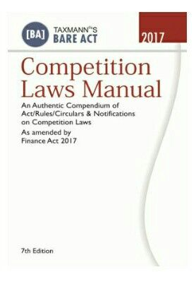 Title Competition Laws Manual Publisher Taxmann 7th Edition
