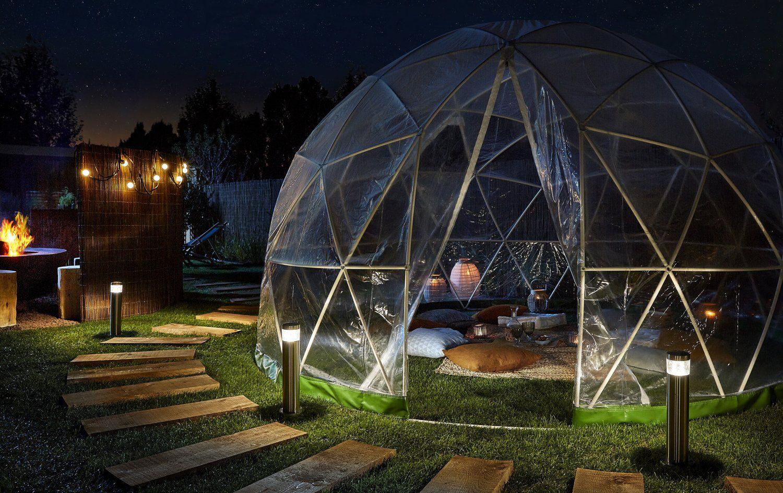 Un Jardin Bien Eclaire Jardins Eclairage Exterieur Exterieur