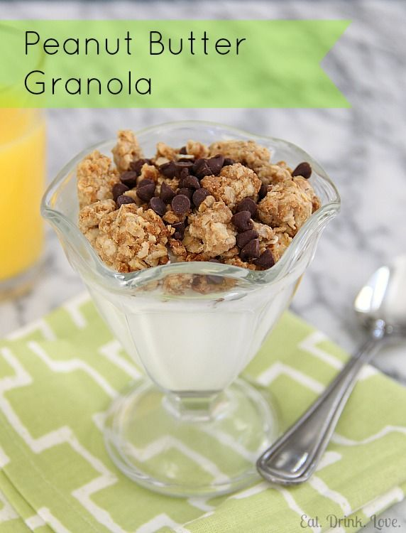 Peanut Butter Granola would pair perfectly w/ Vanilla Chocolate Chunk Chobani.