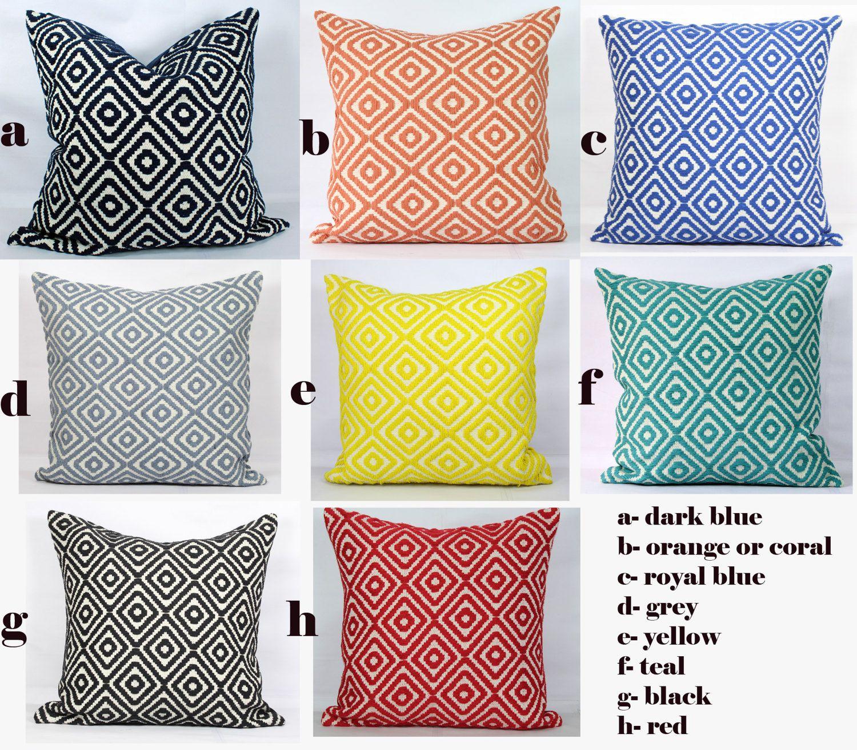 26x26 Pillow Cover Throw Pillows Cushion Cover 24x24 Euro