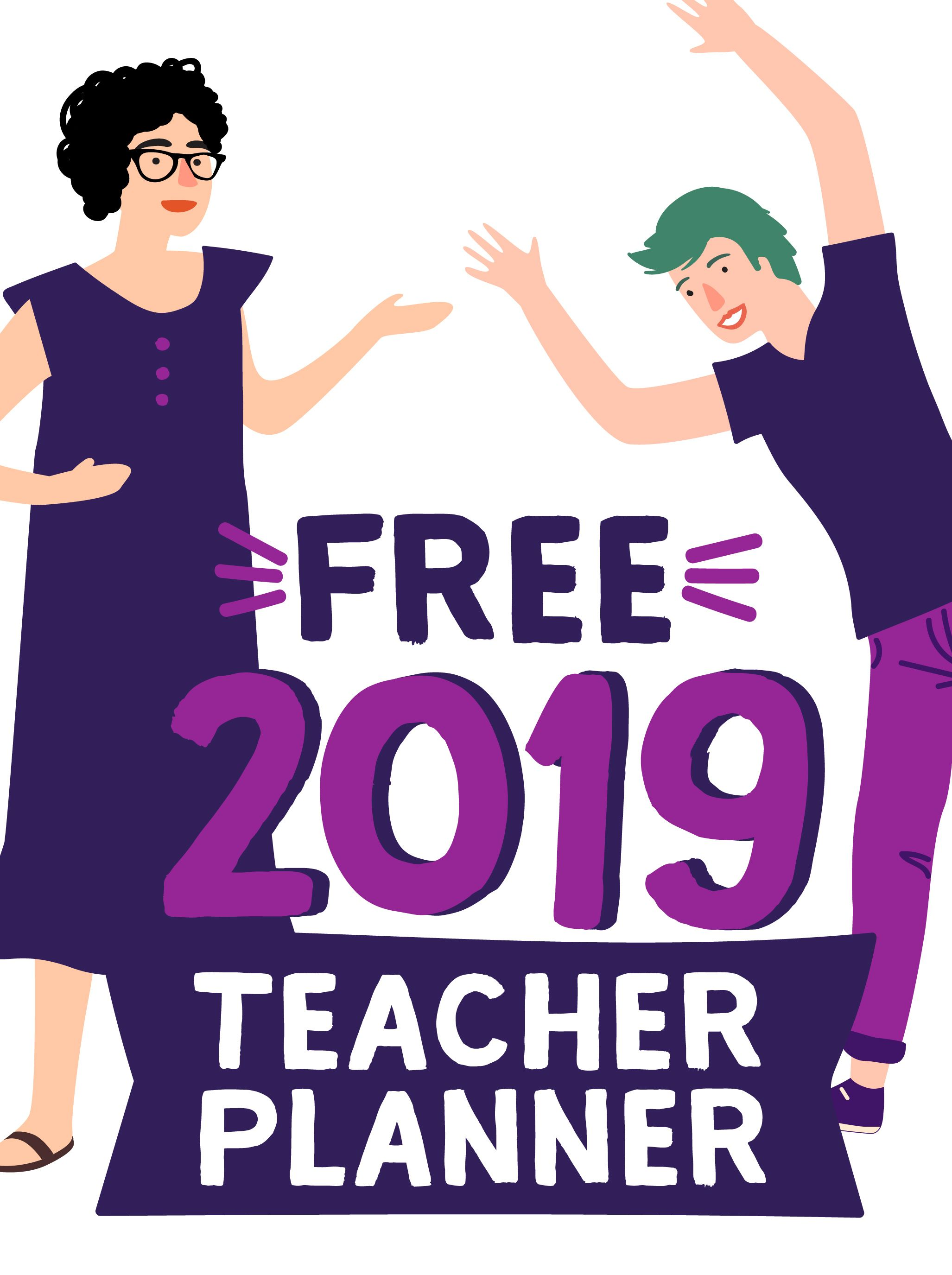 Download the FREE OneNote 2019 Teacher Planner, designed by