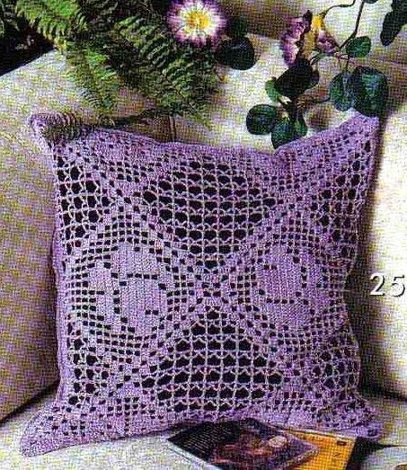 fileth keln kissen rose filet crochet pillow 3 cojines crochet pinterest kissen rose. Black Bedroom Furniture Sets. Home Design Ideas