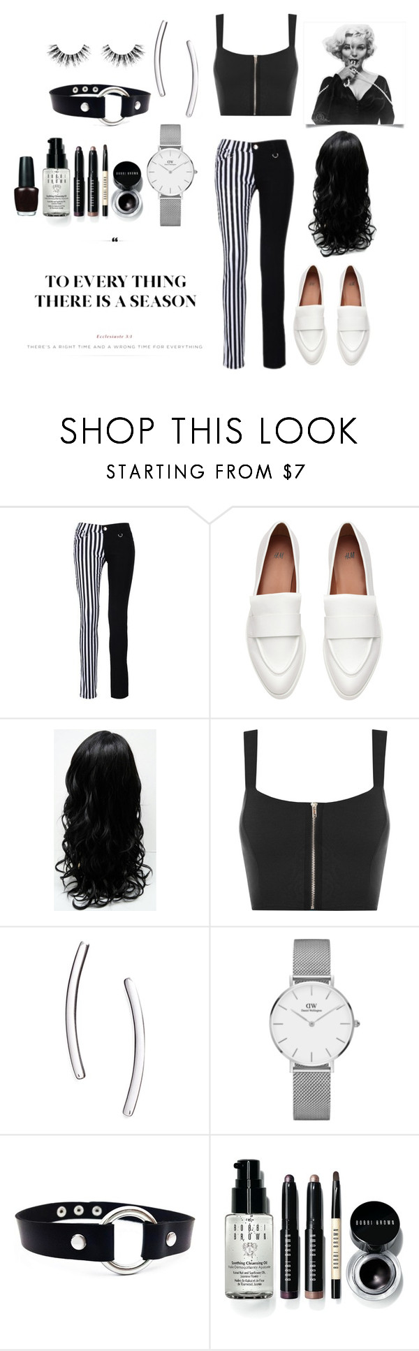 """""""239"""" by itzqtpie ❤ liked on Polyvore featuring WearAll, Nadri, Daniel Wellington, Bobbi Brown Cosmetics and Velour Lashes"""