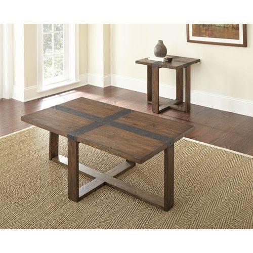 Found It At Wayfair Pine Mountain Piece Coffee Table Set - Pine coffee table set
