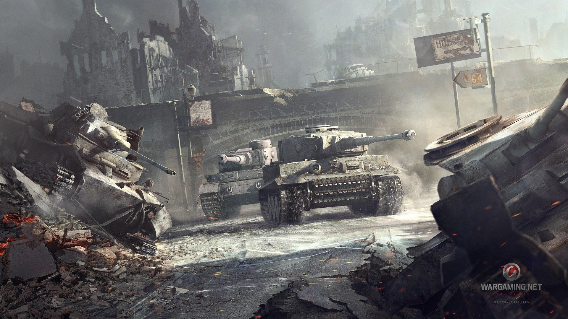 Dickson Jacobson - World of Tanks wallpaper to download - 1920x1080 px