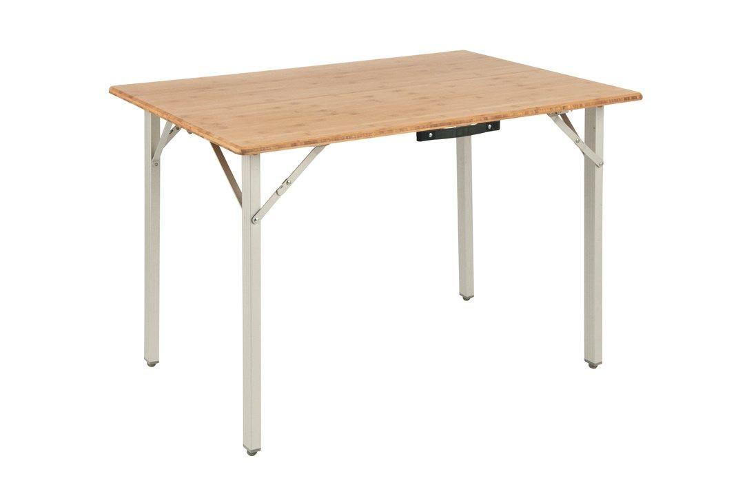 Posadas Foldaway Bed Single Camping Furniture Bamboo Table Camping Table