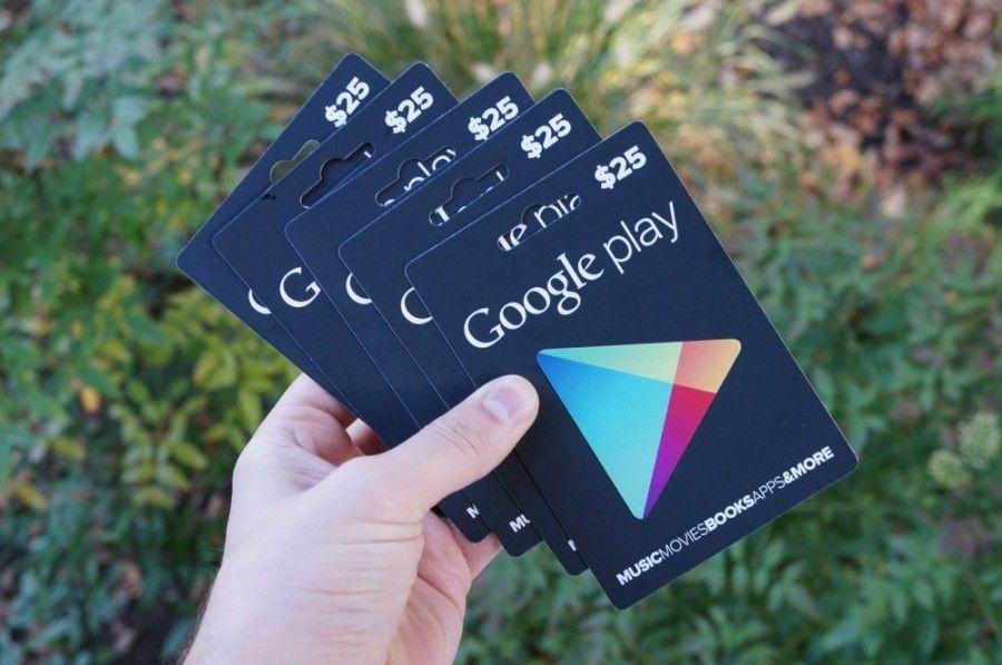 Google Play Free Redeem Codes worth $10,$15,$25,$50 ...